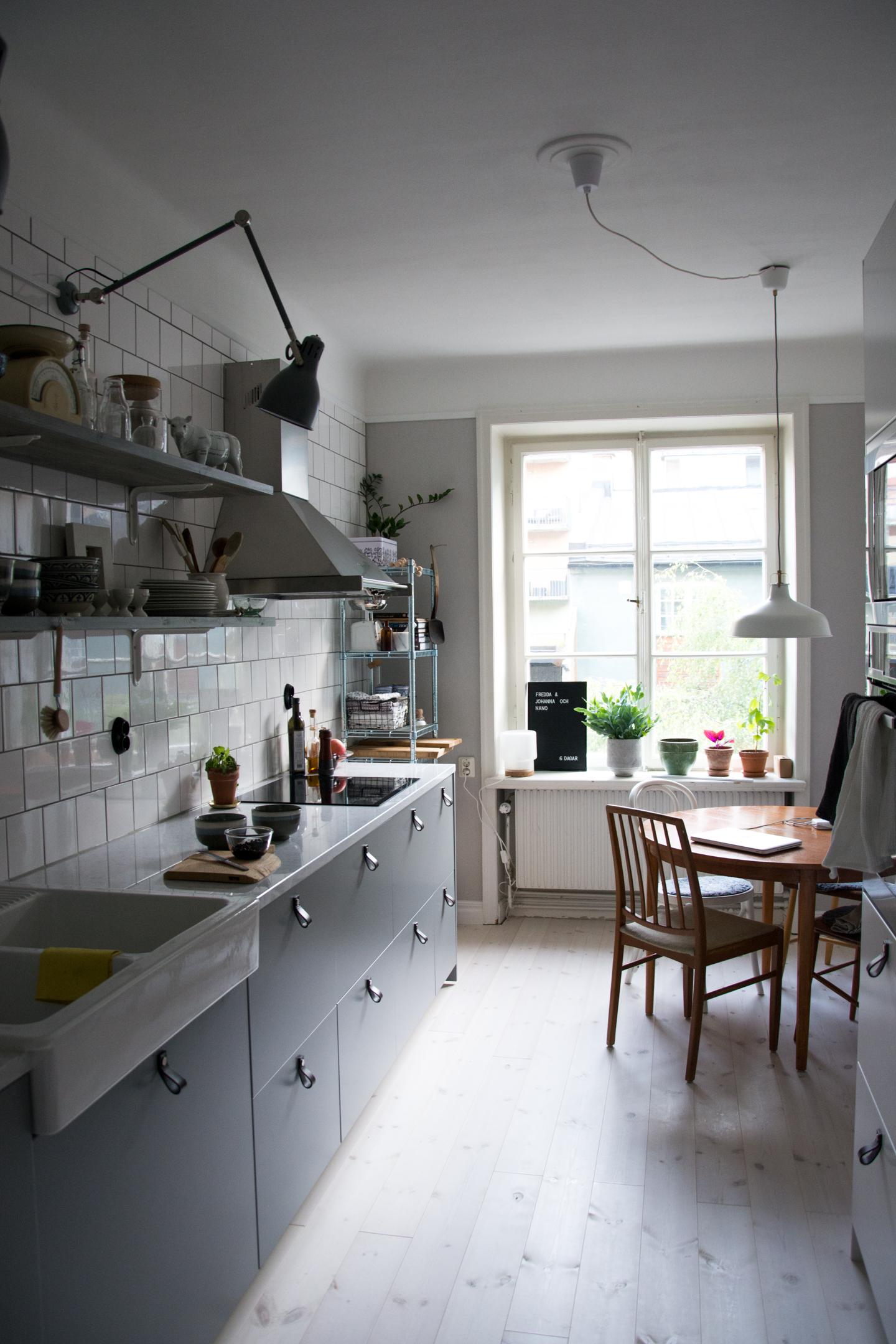 Ett färdigt kök - Baluns och Bryderier